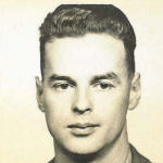 Photo of Clarence Ray– Picture of Lt. CD Ray, Died of Wounds, 20 April 1945, Holland, German sniper.