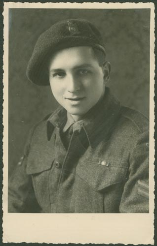 Photo of Abraham Rochlin– Corporal Abraham Rochlin courtesy McGill University archives