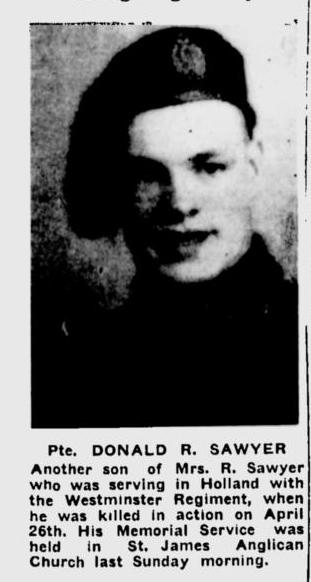 Photo of Donald Robert Sawyer