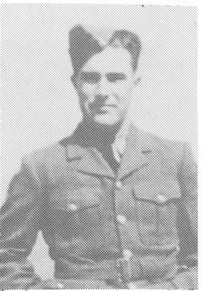 Photo of John Edmund Stennett– Taken from Branch 185 Royal Canadian Legion 60th Anniversary Book published in 1990