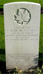 Grave Marker– Delmar is buried is in Groesbeek Canadian War Cemetery, the Netherlands