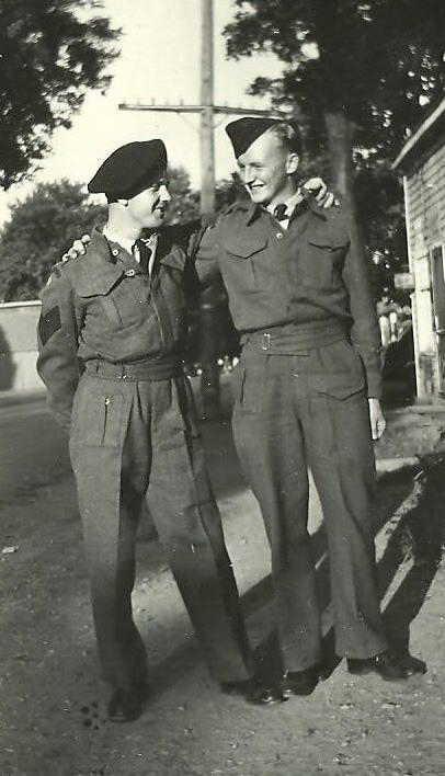 Photo of Wyman Trineer and Harry McVicar