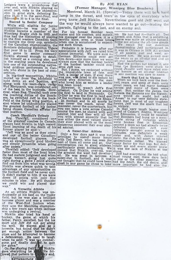 Newspaper Clipping 4