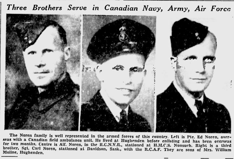 Newspaper Clipping– From the Edmonton Journal. Submitted for the project, Operation: Picture Me