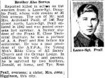 Newspaper Clipping– Source:  Hamilton Spectator, March 10, 1945