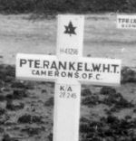 Original Grave Marker– original grave site near the battle field