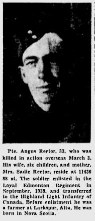 Photo of ANGUS RECTOR