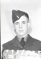 Photo of Donald Kenneth Robertson– Donald also served in the RCAF. Submitted for the project, Operation Picture Me