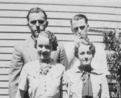 Photo of Charles Joseph Searle– Charlie and Helen Searle and Jack and Eileen Noble. Submitted for the project, Operation Picture Me