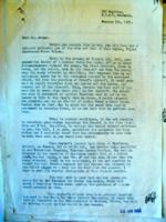 Letter– Letter to Uncle Fred from S/L Reid, Part One, from LAC, Ottawa.