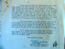 Letter– Letter to Uncle Fred from S/L Reid, Part Two, from LAC, Ottawa.