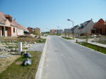 """Street– The new street in Sacy le Grand christened """"F/O Henry MacKenzie"""" on June 25, 2011."""