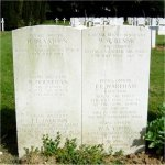 Grave Marker– Grave of W. W. RENNIE in the National Necropolis of Beauvais, Marissel (Oise)