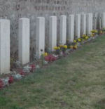 Cemetery– Military square in Creil (Oise) where the Pilot Officer rests.