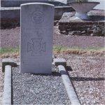 Gravemarker– IAN WILLOUGHBY BAZALGETTE  VC, DFC