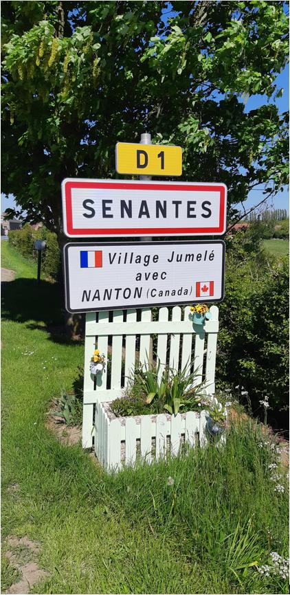 Commemorative Village– Senantes