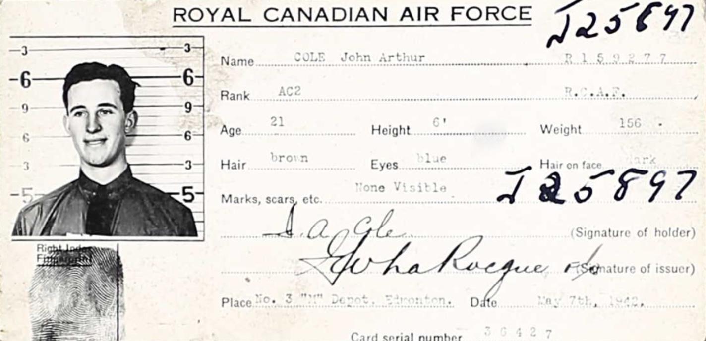 Photo of JOHN ARTHUR COLE