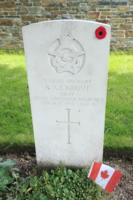 Grave marker– Ypres Town Cemetery & Extension - May 2019 ... photo courtesy of Marg Liessens