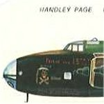 Halifax Bomber– Friday the 13th - Halifax Bomber, 158 Sqn., RAF similar to that of which Roy Hazael was a tail gunner on in 431 (Iroquois) Sqn. RCAF.