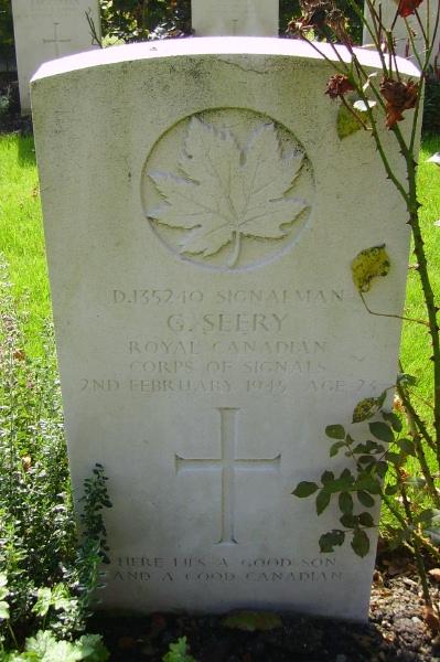 Grave Marker– Grave marker … Schoonselhof Cemetery … photo courtesy of Marg Liessens