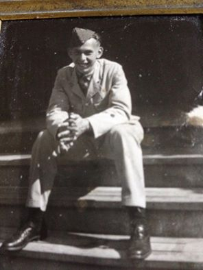 Photo of William Ralph Van Dusen– My Uncle Ralph. Killed in the war at 19 years young. Always thought of even though I did not have the privilege of meeting him