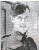 Photo of Floyd Williamson– This photo of Pte Williamson appeared in a special 1994 commemorative issue of The Manitoulin Expositor.