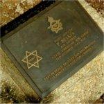 Grave Marker– Paul Belkin's grave marker, Rangoon War Cemetery.