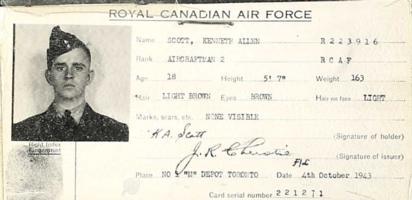 RCAF identification card