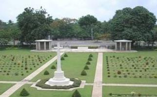 Cemetery– Taukkyan War Cemetery, the final resting place of LAC Kenneth Scott.