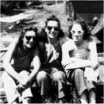 Group Photo– Rita Lamothe (centre) is seen here posing with her friends.