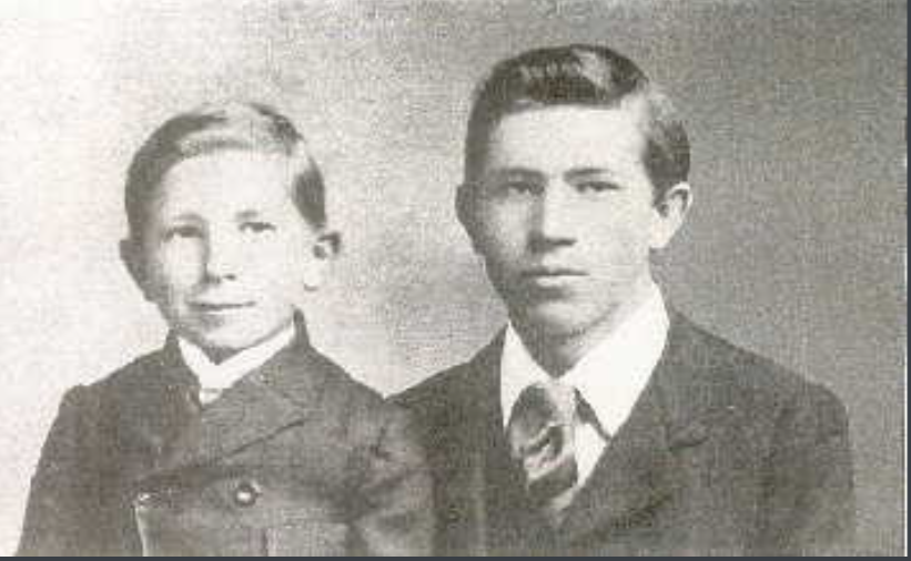 Photo of Frederick and Thompson Banting