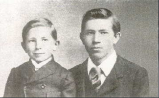 Photo of Frederick and Thompson Banting– Frederick and Thompson Banting. Submitted for the project, Operation Picture Me
