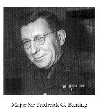 Photo of Frederick Grant Banting– From:  University of Toronto Memorial Book Second World War 1939-1945.  The book was published by the Soldiers' Tower Committee, University of Toronto.   Submitted with permission, by Operation Picture Me.