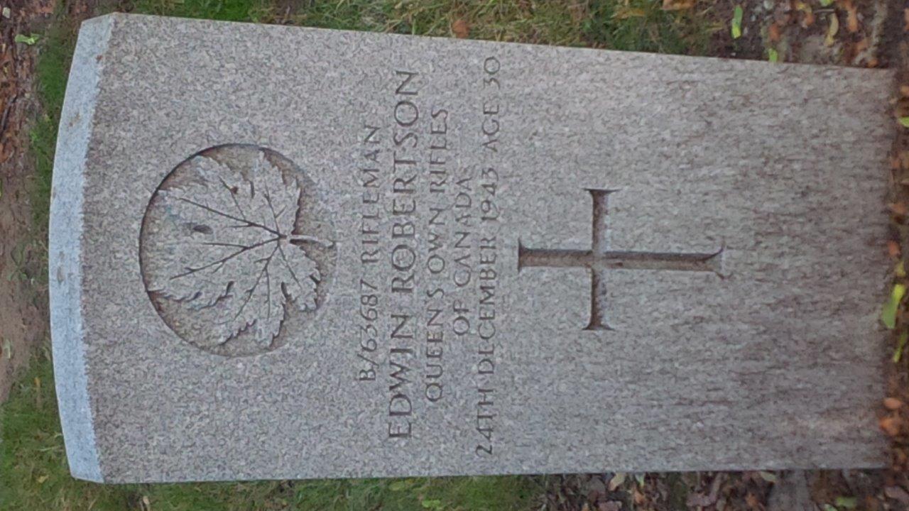 Grave marker– Toronto Necropolis