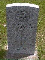 Headstone of Edmund J. Delaney