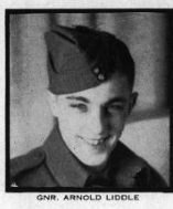 Photo of ARNOLD FREDERICK LIDDLE– In memory for the students from Mimico (Ontario) High School who went to war and did not come home. Submitted for the project, Operation: Picture Me