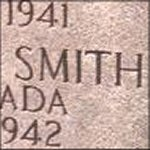 Grave Marker– This photo of RQMS Smith's gravemarker was taken by Padre Craig Cameron of The QOR of C in August 2000.