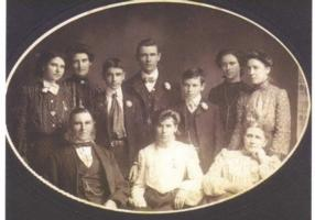 Photo of ANGUS CHARLES SMITH– Alfred Smith and family. Submitted for the project, Operation  Picture Me
