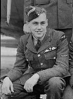 Photo of Stanley Herbert Balkwill– LAC Stanley Herbert Balkwill following his wings parade. No. 8 Service Flying Training School, Moncton, New Brunswick. 13 September 1941
