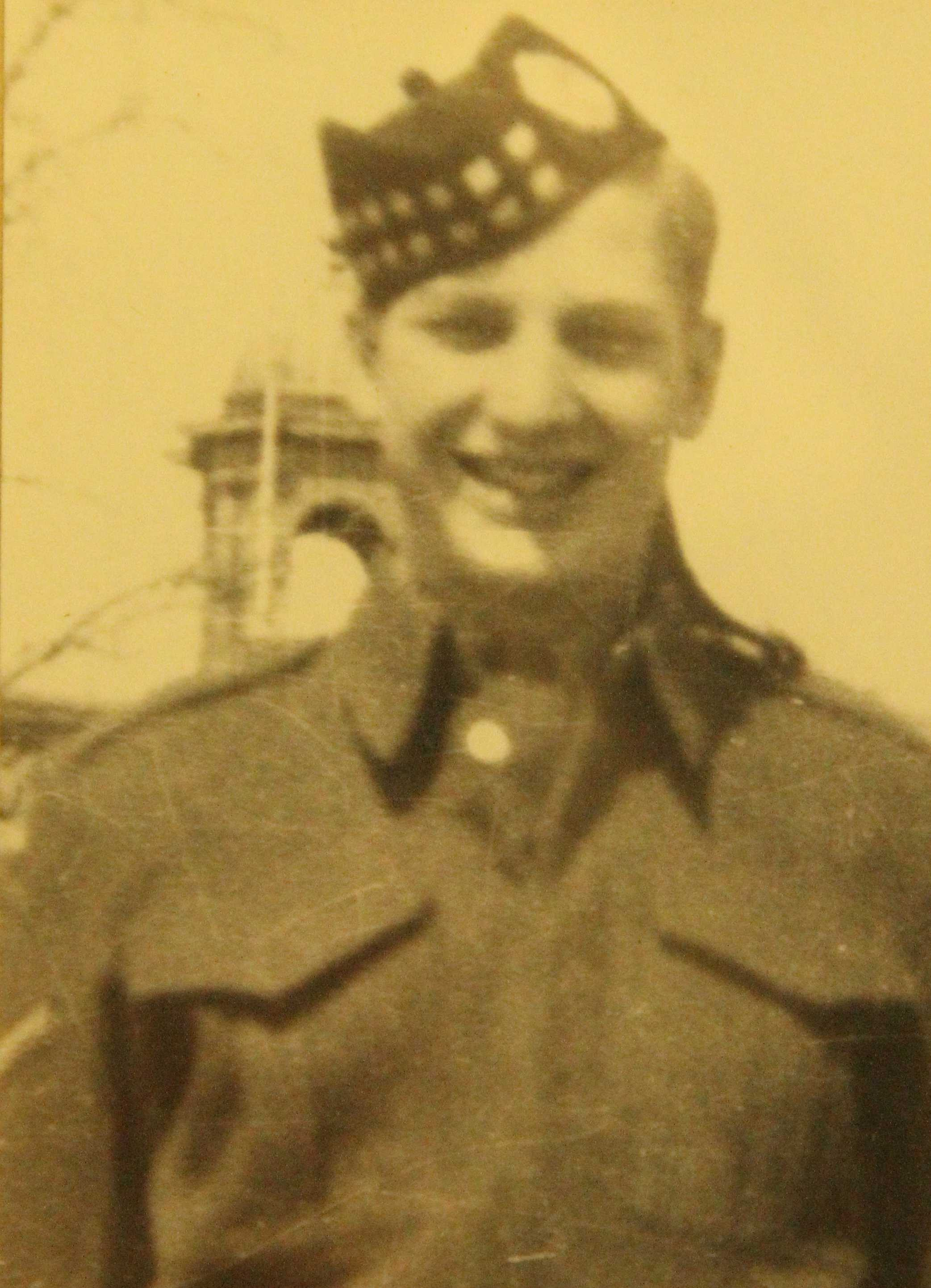 Photo of Maurice Higgins– In memory of the students from Western Technical School, Toronto who served during World War II and did not return. Submitted for the project, Operation: Picture Me.