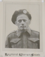 Photo of RAYMOND WARREN SMITH– In memory of the students from Midland High School who served during World War 11 and did not return. Photos submitted for the project, Operation: Picture Me, on behalf of Midland Legion Branch 80 190 Queen St. Midland, Ontario.