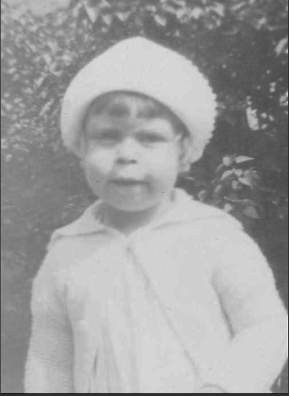 Photo of Norman Alfred Hurst– A childhood photo of Norman. Submitted for the project Operation Picture Me