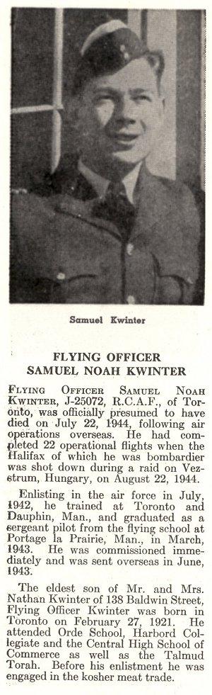 Photo of Samuel Kwinter