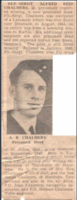 Photo of ALFRED REID CHALMERS– Submitted for the project, Operation Picture Me
