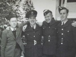 Photo of ALFRED REID CHALMERS– brothers Fred, Herb, Jack and Alf. Submitted for the project, Operation Picture Me