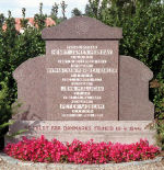 Memorial– Commemorative stone located at Gram Kirkegaard Churchyard bearing the inscription ÈThey fell for the freedom of Denmark 19.4.1944.  Erected by the parish of Gram.  Unveiled December 1945.