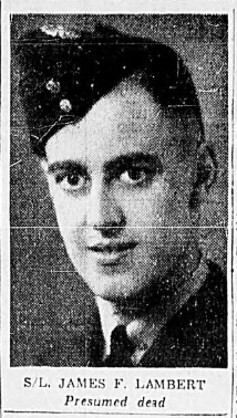 Photo of JAMES FIELDEN LAMBERT– In memory of the men and women memorialized on the pages of the Winnipeg Evening Tribune. Submitted for the project, Operation: Picture Me.