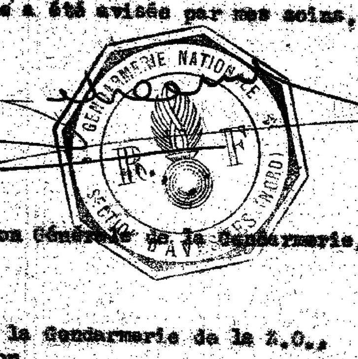 Document– Eyewitness Account of the crash.