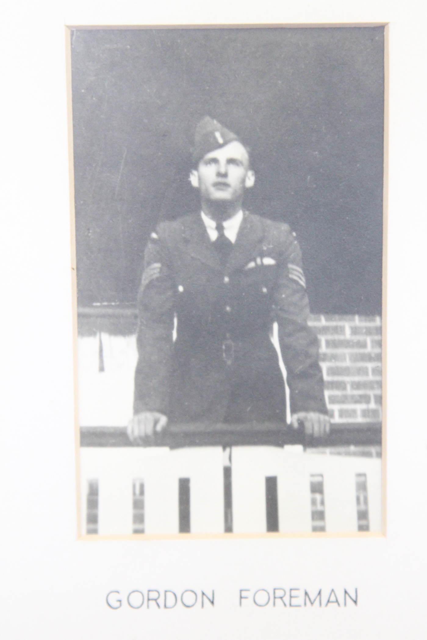 Photo of GORDON JAMES FOREMAN– In memory of the students from the Vaughan Road Collegiate Institute  (Toronto) who went away to war and did not come home. Submitted for the project, Operation Picture Me