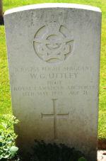 Grave Marker– Courtesy of Wilf Schofield, England.